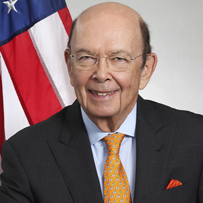 Wilbur Ross, Secretary, U.S. Department of Commerce